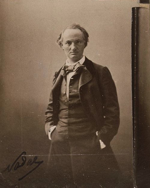 Baudelaire 1862 par Nadar